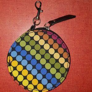 Multicolor change purse